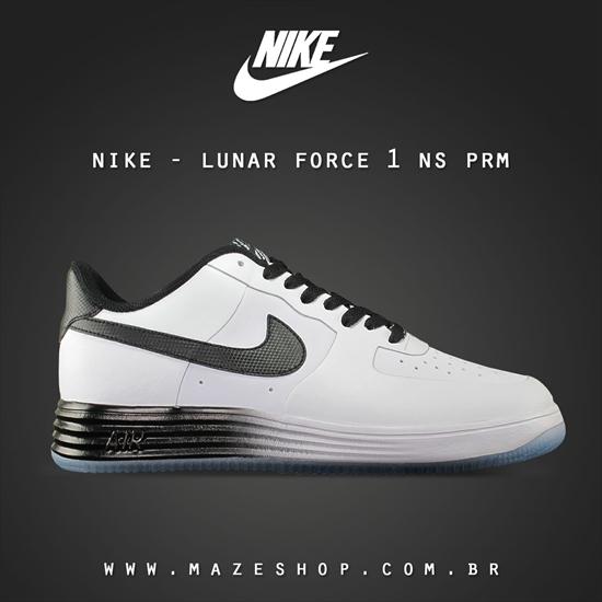 save off bce67 f1819 Nike Lunar Force 1 NS PRM - White Black 01 04 2014