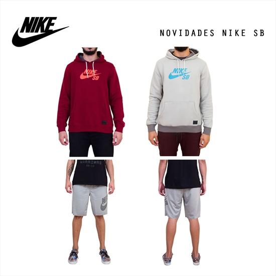 Novidades Nike SB! Começando pelo moletom
