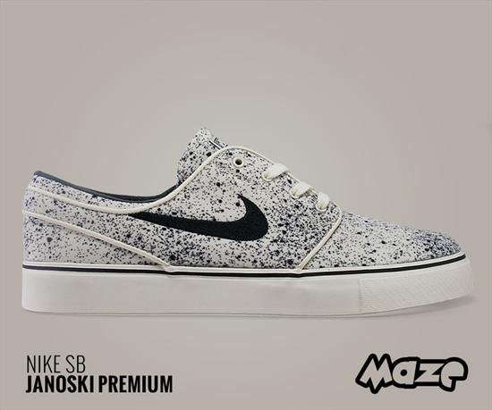 Mais uma opção do Nike Stefan Janoski chega à Maze! Batizado de