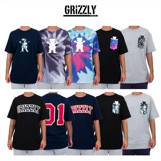 1c7019b92b460 Coleção de camisetas Grizzly já disponível em todas lojas Maze! São nove  incríveis modelos com variações de cores