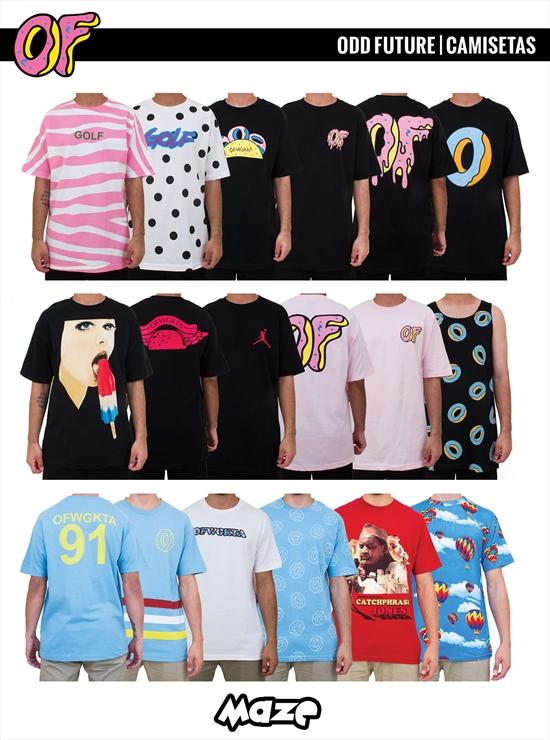 deafbfa4e8 Odd Future - Camisetas 13 10 2014
