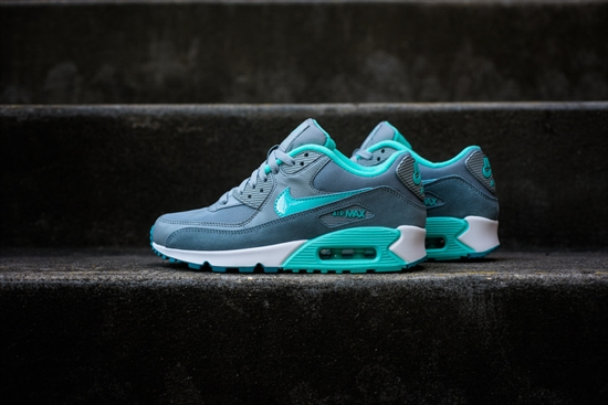 Nike Air Max 90 Wmns Essential - Silver Turquoise 10 11 2014 b2d25f14d25d0