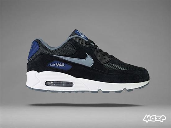 c6b1db66420 Nike Air Max 90 Essential - Black Blue 22 04 2015