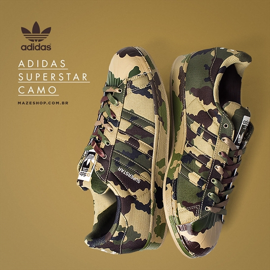 bf06aa7a8d9af Adidas Superstar - Graphic Pack Camo/Hemp 27/08/2015
