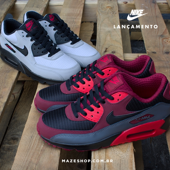 Novos Nike Air Max 90 Essential 20 10 2015 e5eb44fa7c313