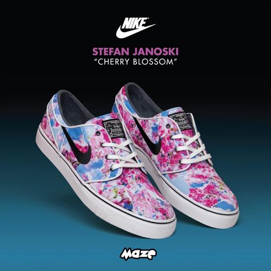 Nike SB Zoom Stefan Janoski Canvas PRM (Dynamic Pink Black White Gm Light Br)