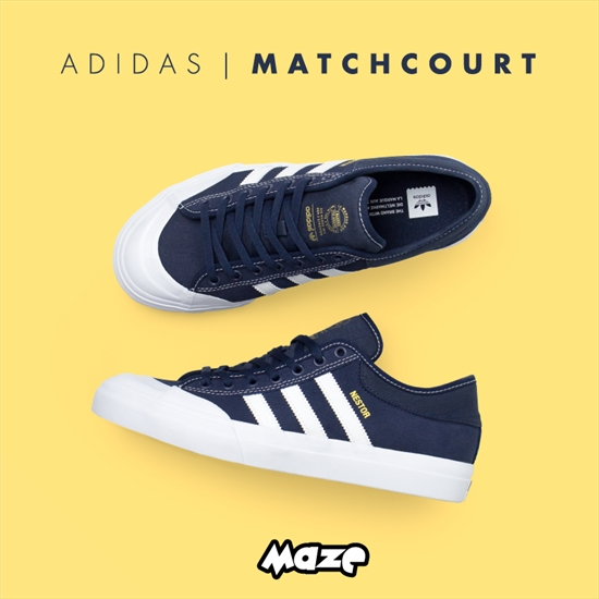 fbc7644acb O Matchcourt é um tênis clássico com design retrô, acompanhando a nova  tendência com bico de borracha, que proporciona um visual elegante e  vintage.
