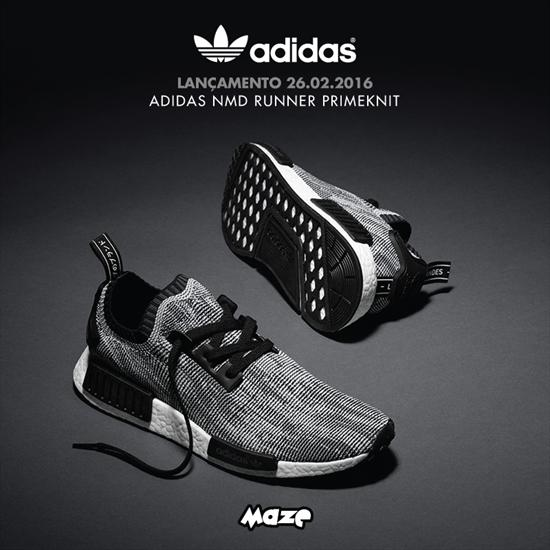 Lançamento - Adidas NMD Runner Primeknit 25 02 2016 ca37e53e913