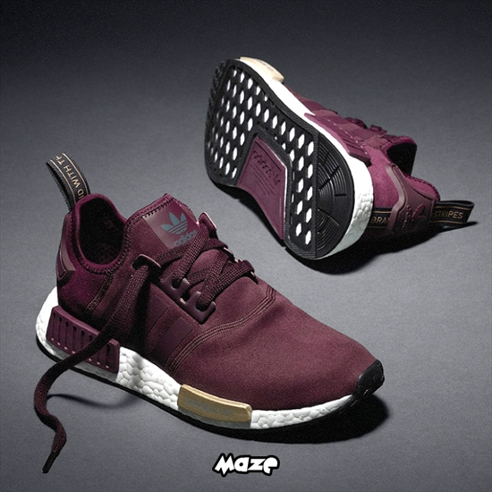 Adidas NMD Runner Feminino Burgundy 18 03 2016 a8f2c5cc514
