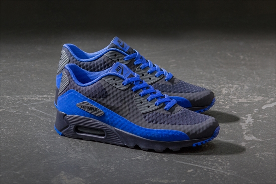 Nike Air Max 90 Ultra Essential Preto e Azul Royal 19 10 2016 7492375785a34
