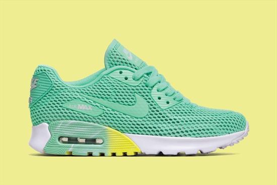 3dd2e7018a4 Nike Feminino Air Max 90 Ultra BR Verde 01 12 2016