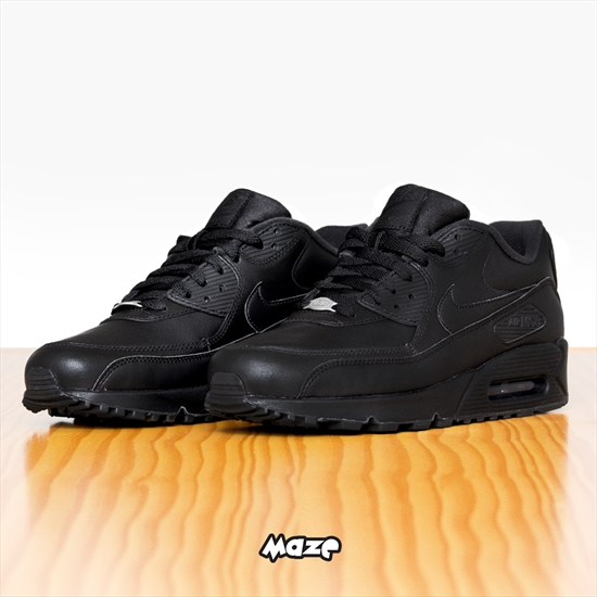 f58c75e7470 Tênis Nike Air Max 90 Leather Preto 12 04 2017