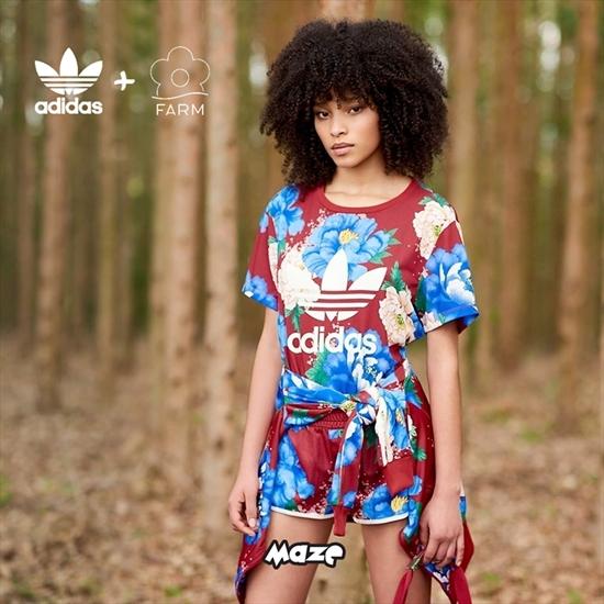 d53352bdd3d18 Inspirada pela fauna e flora do Brasil, a marca carioca FARM se une mais  uma vez à Adidas para lançar a nova coleção Originals x FARM.