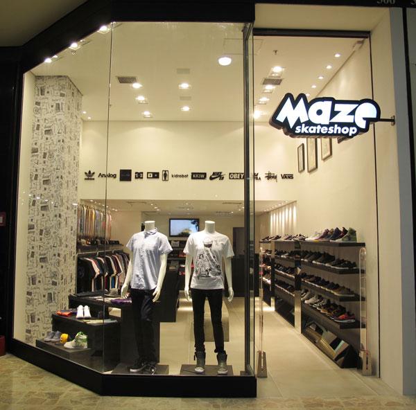 MAZE Inaugura novo shop em SANTO ANDRÉ